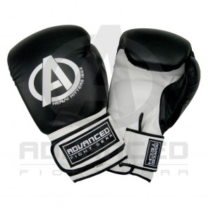 Advanced Fight Gear Leather Sparring Boxing Exercise Gloves 16oz Heavy Hitters