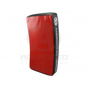 Advanced Fight Gear Curved Red/Black MMA Kickboxing Kick Shield