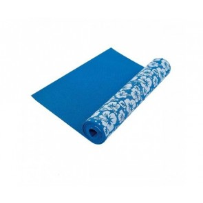 Tunturi Yoga Mat with Flower Print