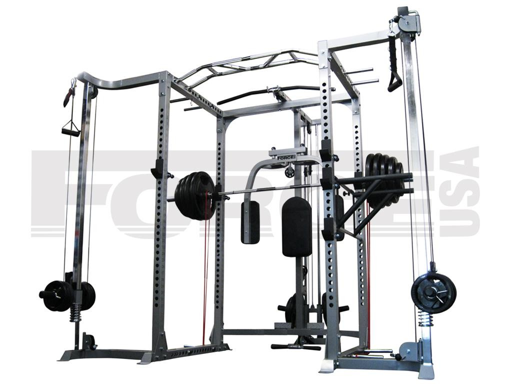 Fitness Equipment Service Force Usa Power Rack With Cable
